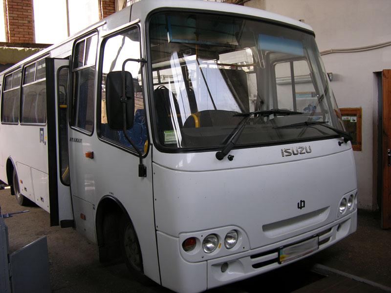 Установка Кондиционера на автобус БОГДАН АТАМАН