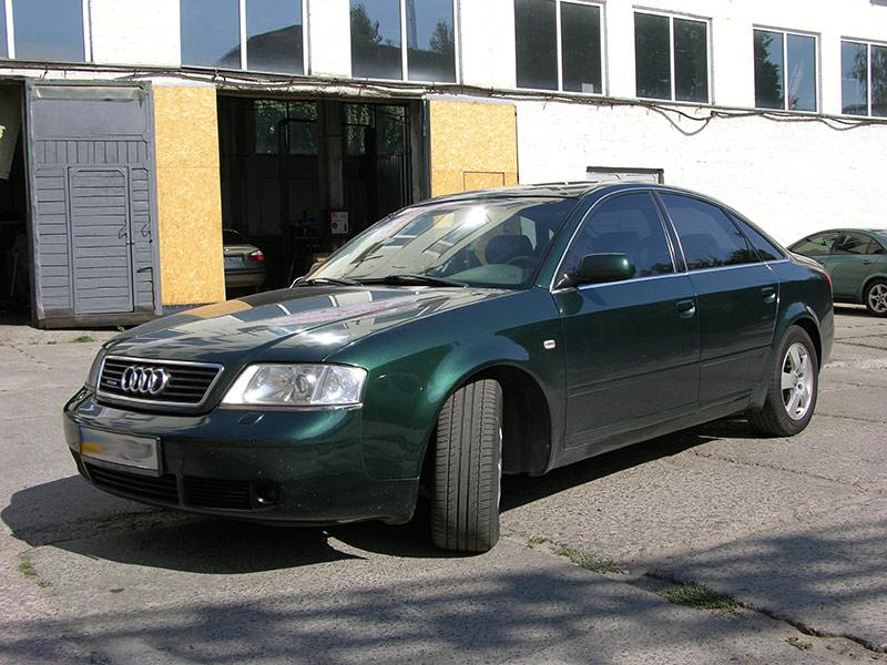 Установка ГБО на Audi A6 2,7 Biturbo