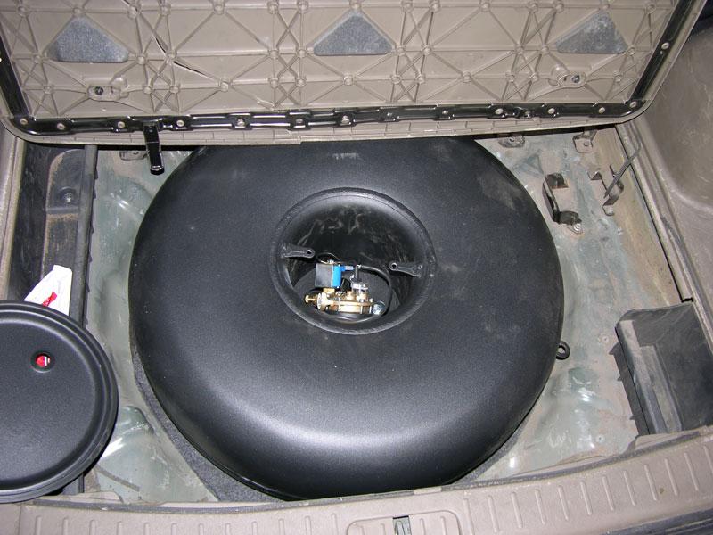 Установка ГБО на Hyundai Tucson 2,7 V6