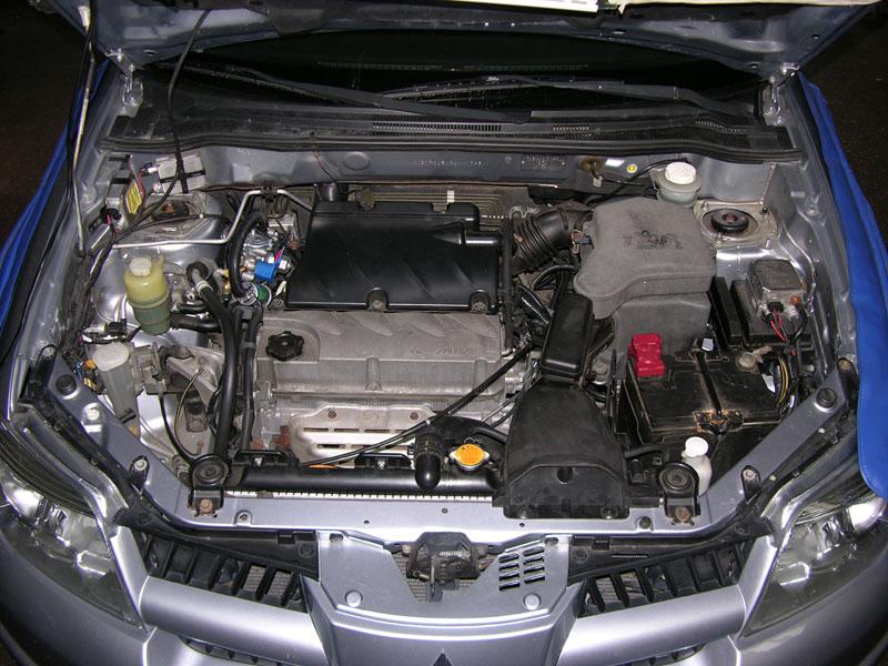 Установка ГБО на Mitsubishi Outlander 2,4