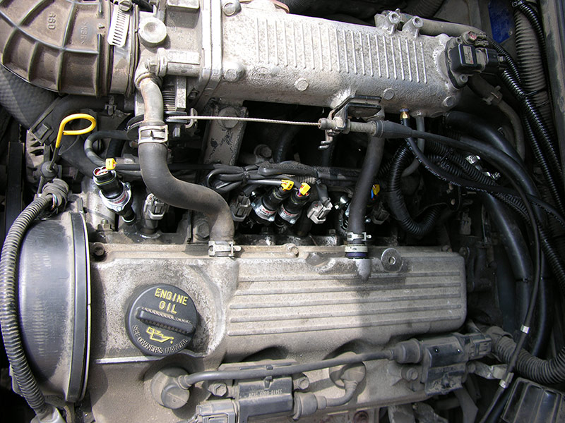 Установка ГБО на Suzuki Grand Vitara