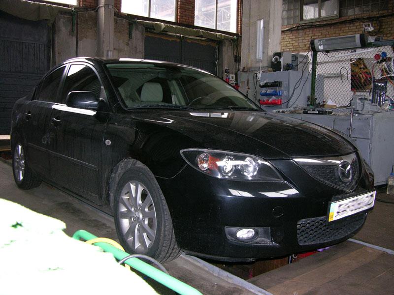 Установка ГБО на Mazda 3