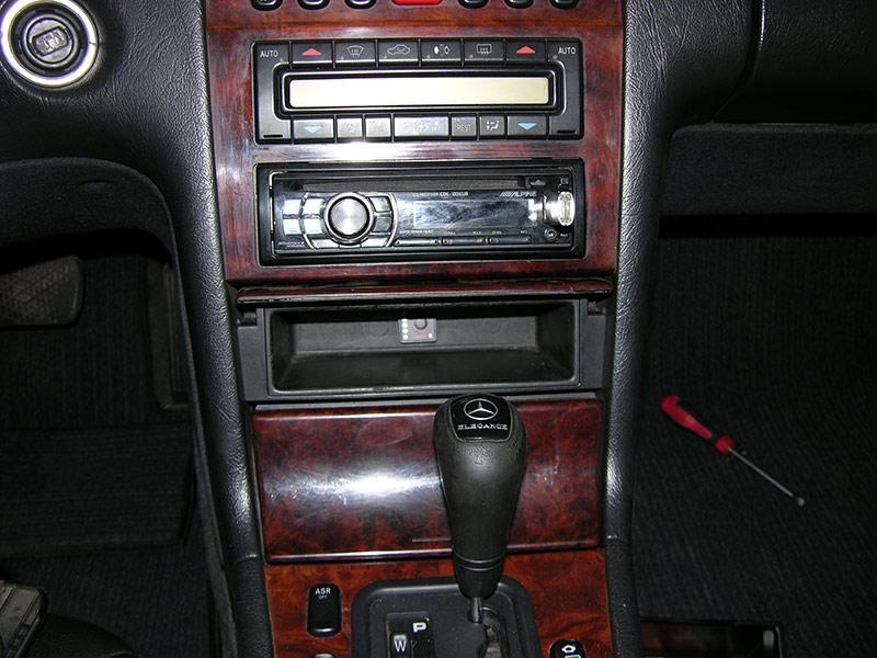 Установка ГБО на Mercedes W210