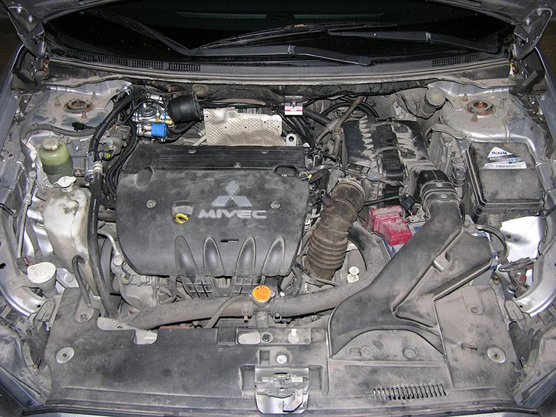 Установка ГБО на Mitsubishi Lancer X