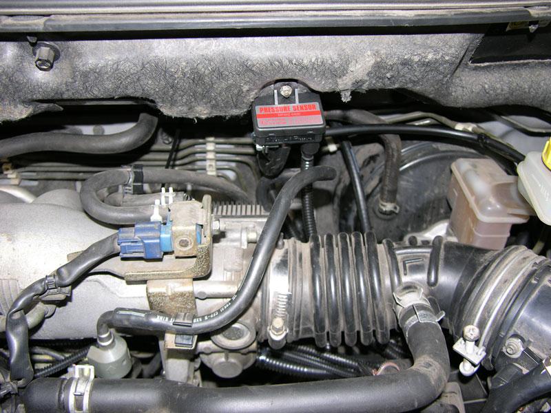 Установка ГБО на Nissan X-Trail  2,5
