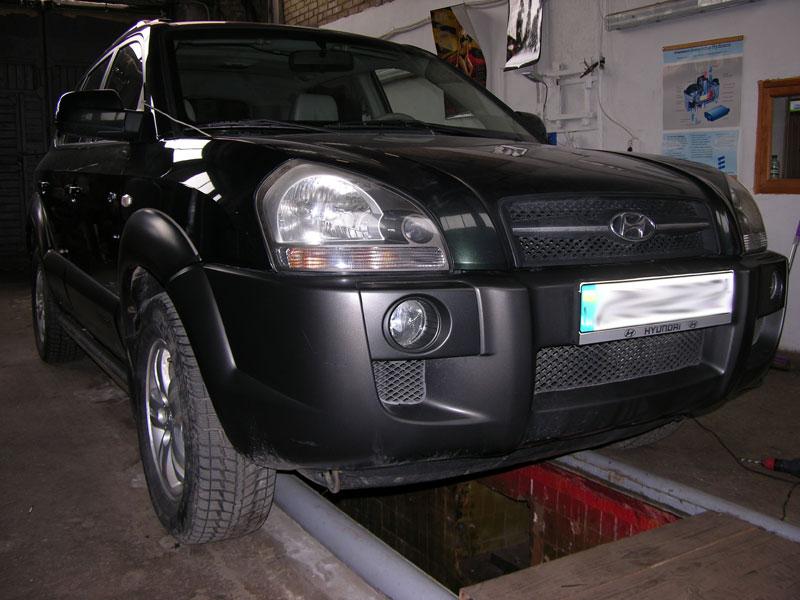 Установка ГБО на Hyundai Tucson V6